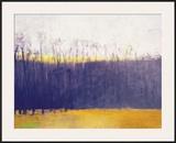 Gray-Violet Landscape Framed Giclee Print by Wolf Kahn