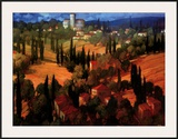 Tuscan Castle Prints by Philip Craig