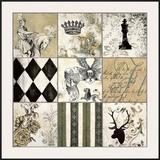 Baroque I Poster by Sylvie Bellaunay