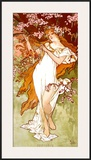 Spring Posters by Alphonse Mucha