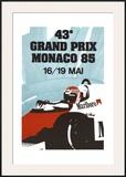 Monaco Grand Prix, 1985 Prints by Geo Ham