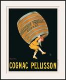 Cognac Pellisson Framed Giclee Print