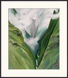 Waterfall No. 3, 'Iao Valley Prints by Georgia O'Keeffe