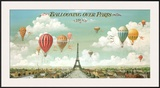 Ballooning Over Paris Print by Isiah and Benjamin Lane