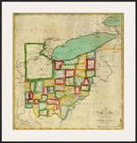 State of Ohio, c.1827 Posters by Robert Desilver
