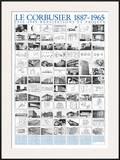 Realisations et Projets, 1905-1985 Pôsteres por  Le Corbusier