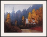 Back Roads Print by Ramona Youngquist