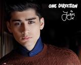 One Direction - Zayn Landscape Posters