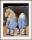 El Caballo del Picador Prints by Fernando Botero