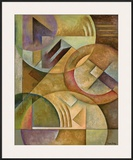 Spheres of Thought II Print by Marlene Healey
