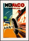 Monaco Grand Prix, 1931 Poster
