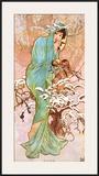 Winter Art by Alphonse Mucha