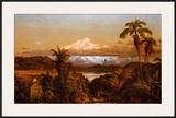 Cayambe Prints by Frederic Edwin Church
