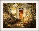Grandmother's Doorway Poster by Abbott Fuller Graves