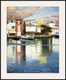 Harbor at Morning Light Posters by Ramon Pujol