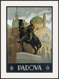 Padova Framed Giclee Print by Marcello Dudovich