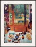 The Breakfast Room Print by Pierre Bonnard