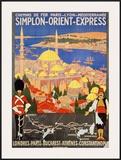 Orient Express Print