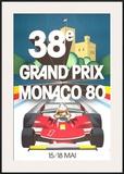 Monaco Grand Prix, 1980 Prints