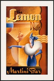 The Lemon Drop Martini Bar Prints by Michael L. Kungl