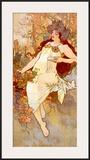 Fall Prints by Alphonse Mucha
