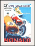 Monaco Grand Prix, 1957 Poster by B. Minne