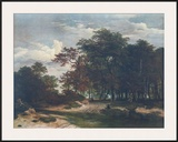 The Heart of the Forest Print by Jacob van Ruisdael