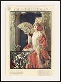 Flamenco Dancer in Exposition Poster Framed Giclee Print