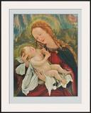Madonna (fom the Isenheim Altar) Art by Matthias Gruenewald