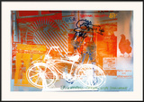 Bicycle, National Gallery Print by Robert Rauschenberg