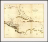 Composite: West Indies, c.1810 Prints by Aaron Arrowsmith