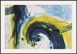 Rainfall Framed Giclee Print by Julie Hawkins