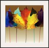 Leaf Dance Posters by Robert Mertens