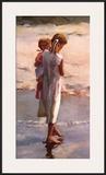 Morning Walk Print by Nancy Seamons Crookston