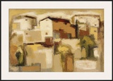 Siena Framed Giclee Print by Eric Balint