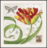 Tulip I Print by Lynnea Washburn