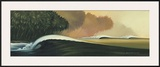 Point of No Return Framed Giclee Print by Wade Koniakowsky