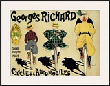 Georges Richard Poster by Fernand Fernel