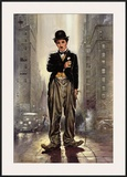 Charlie Chaplin, City Lights Prints by Renato Casaro