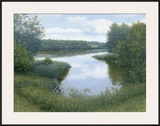 Summer Inlet Framed Giclee Print by  Arzt