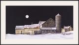 Coyote Run Framed Giclee Print by B. Hendershot