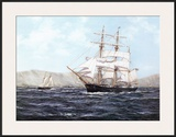 The Barque Annie Johnson Poster by Henry Scott