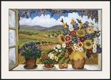 Debbie's View Prints by Suzanne Etienne
