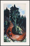 Winding Path in the Black Forest Print by Max Beckmann