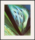 Blue Green Music Prints by Georgia O'Keeffe