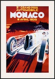 Grand Prix de Monaco, 1930 Framed Giclee Print by Robert Falcucci