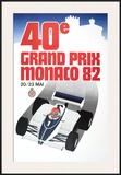 Monaco Grand Prix, 1982 Posters by Geo Ham