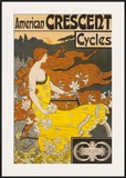 American Crescent Cycles Print by  Ramsdell