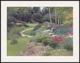 The End of the Garden Framed Giclee Print by Allan Myndzak