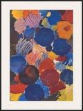 Ekstatisches Blau Posters by Ernst Wilhelm Nay
